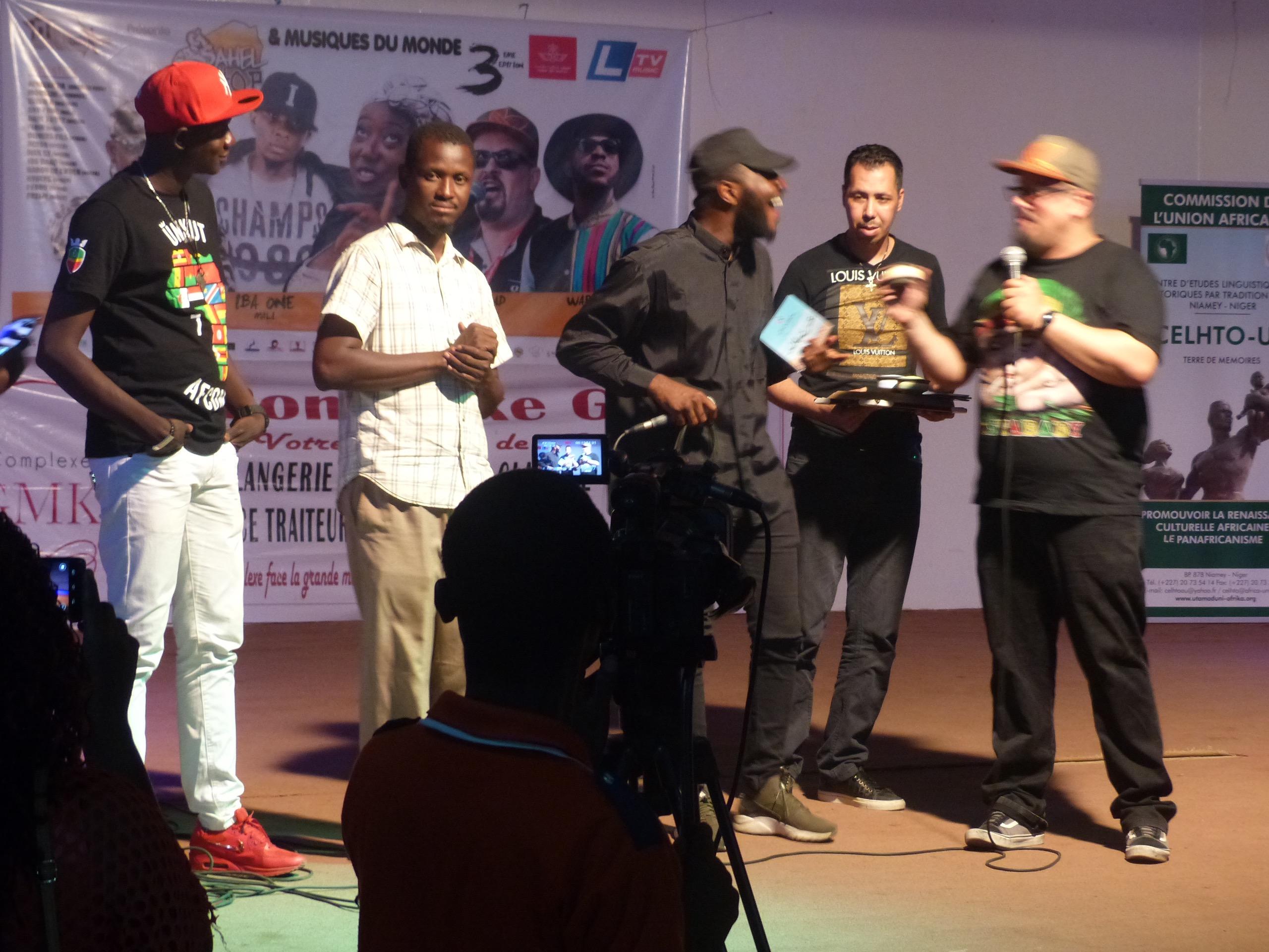 Le festival Sahel Hip Hop & Musique du monde