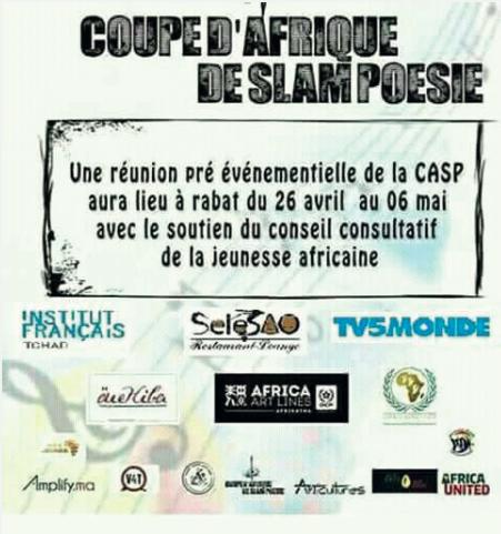 COUPE AFRIQUE SLAM POÉSIE