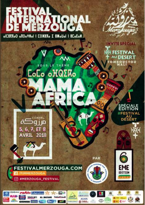 KADER TARHANIN @ FESTIVAL INTERNATIONAL DE MERZOUGA
