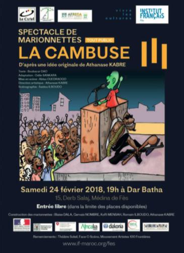 LA CAMBUSE – SPECTACLE DE MARIONNETTE