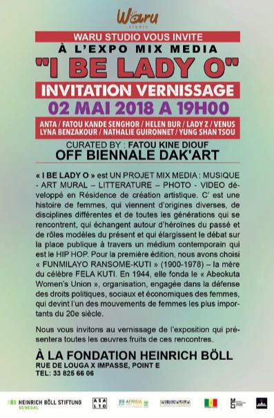 LYNA BENZAKOUR @ LA BIENNAlE DE L'ART AFRICAIN CONTEMPORAIN (DAK'ART)