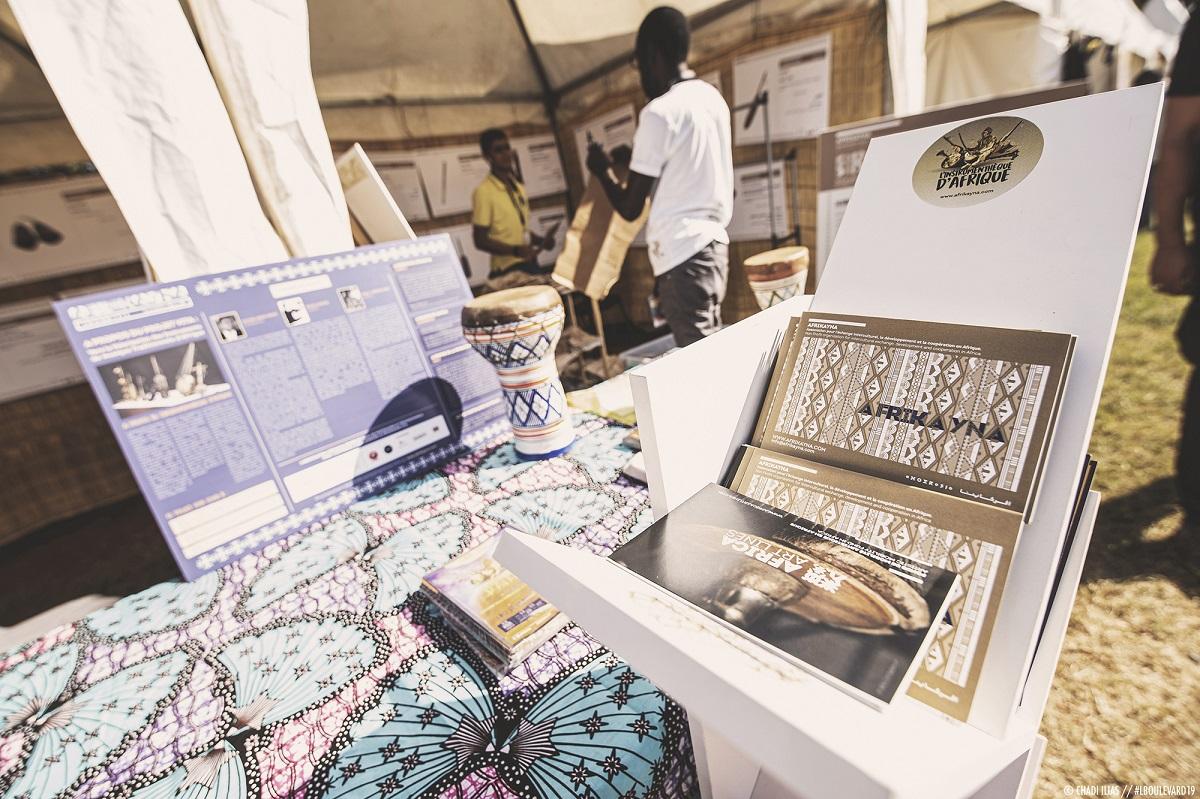 L'INSTRUMENTHEQUE D'AFRIQUE AU FESTIVAL L'BOULEVARD