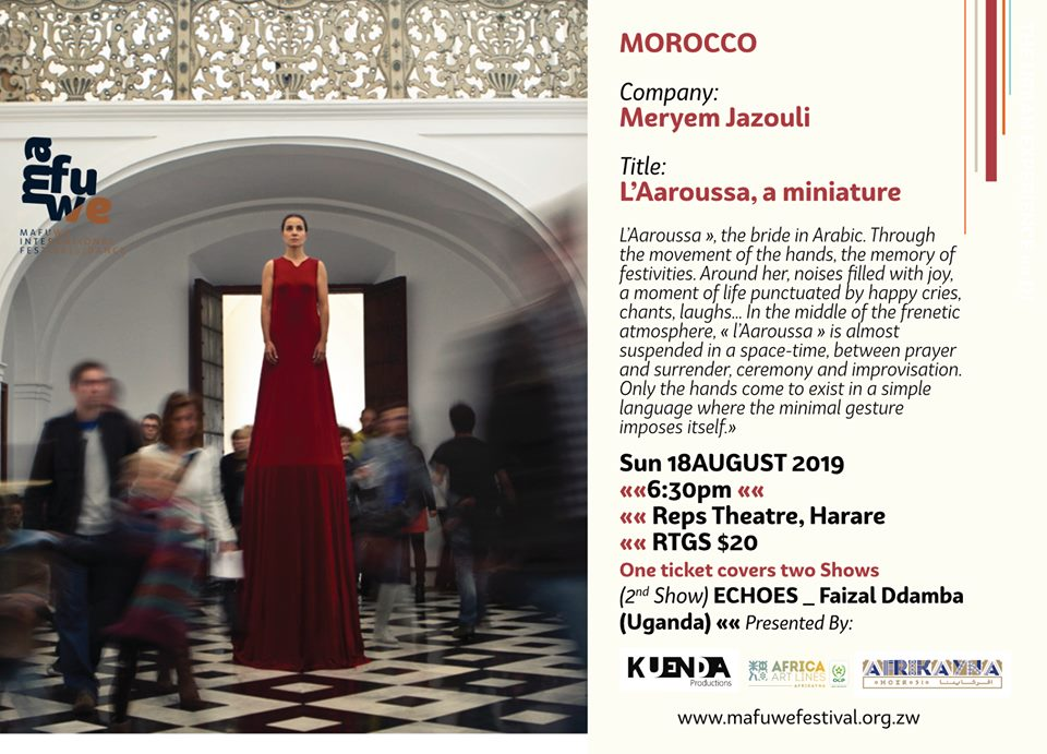 Meryem Jazouli @ MAFUWE INTERNATIONAL FESTIVAL OF DANCE
