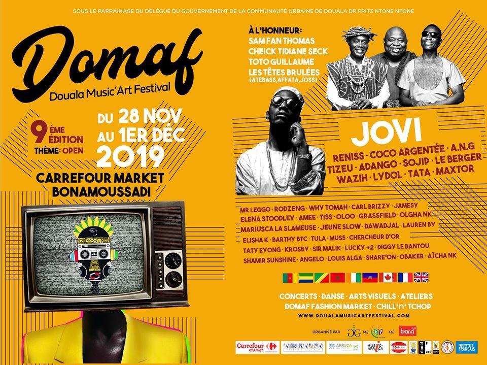 OTHMANE JMAD @ DOUALA MUSIC'ART FESTIVAL